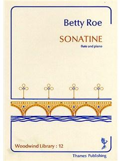 Betty Roe: Sonatine (Flute/Piano) Books | Flute, Piano Accompaniment