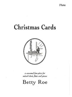 Betty Roe: Christmas Cards (Flute) Books | Flute