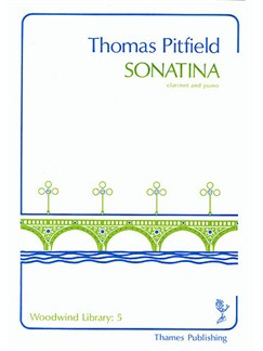 Thomas Pitfield: Sonatina Books | Clarinet, Piano Accompaniment