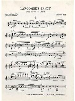 Betty Roe: Larcombe's Fancy Books   Guitar