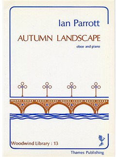 Ian Parrott: Autumn Landscape Books | Oboe, Piano Accompaniment