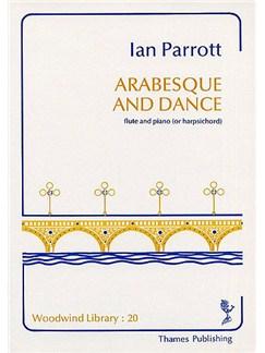 Ian Parrott: Arabesque And Dance Books | Flute, Piano Accompaniment