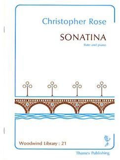 Christopher Rose: Sonatina Books | Flute, Piano Accompaniment