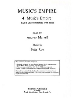 Betty Roe: Music's Empire (Music's Empire) Books | SATB