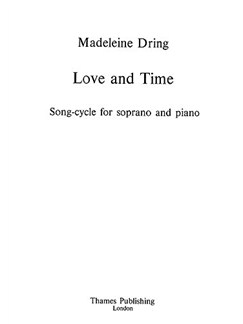 Dring: Love And Time (High) Books | Piano, Soprano