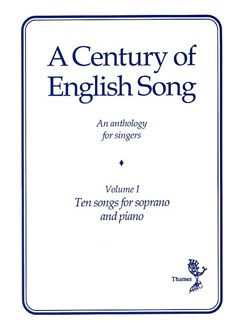 A Century Of English Song - Volume I Books | Soprano, Piano Accompaniment