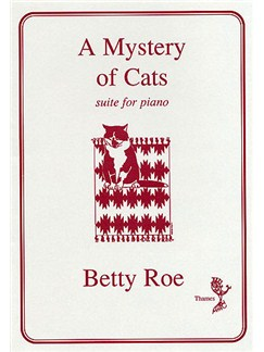 Betty Roe: A Mystery Of Cats Books | Piano