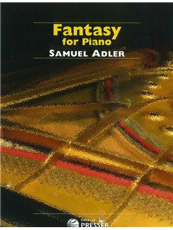 Samuel Adler: Fantasy For Piano Books | Piano