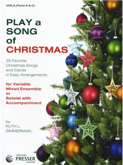 Play A Song Of Christmas - Variable Mixed Ensemble Or Solo With Accompaniment (Viola) Books | Viola