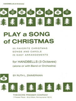 Play A Song Of Christmas - Variable Mixed Ensemble Or Solo With Accompaniment (Handbells) Books | Handbells