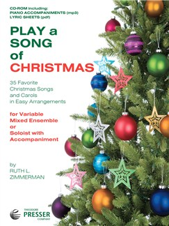 Play A Song Of Christmas - Variable Mixed Ensemble Or Solo With Accompaniment (CD) CD-Roms / DVD-Roms |