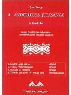 Ejnar Kampp: 4 Anderledes Julesange (SATB) Books | SATB