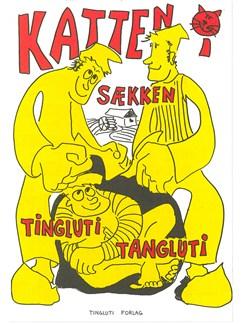 Fin Alfred Larsen: Katten i Sækken Libro | Línea de Melodía, Texto y Acordes