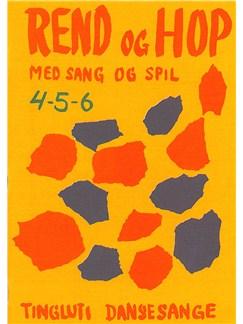 Rend Og Hop 4-5-6 - Med Sang Og Spil Libro | Línea de Melodía, Texto y Acordes