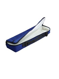Trevor James: Fleece Lined Flute Case Cover (Blue)  | Flute