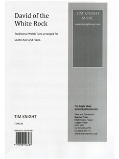 Tim Knight: David Of The White Rock (Choral (mixed Voices)) Books | Choral