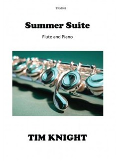 Tim Knight: Summer Suite Books | Flute, Piano Accompaniment
