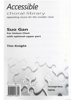 Tim Knight: Suo Gan Books | Unison Voice, Piano Accompaniment