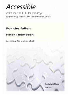 Peter Thompson: For the fallen Books | Unison Voice