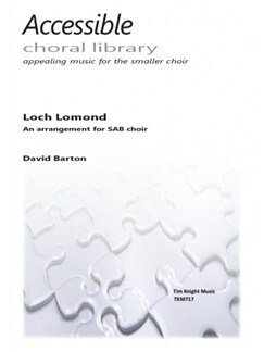 David Barton: Loch Lomond (SATB) Books | SATB