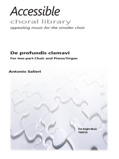 Antonio Salieri: De Profundis Clamavi (Arr. Tim Knight) Books | Unison Voice, Organ Accompaniment