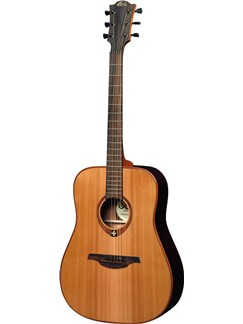 LAG: Tramontane TL100D - Left Handed Dreadnought Guitar (Natural) Instruments | Acoustic Guitar, Left-Handed Guitar