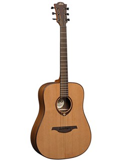 LAG: Tramontane TL300D - Left-handed Dreadnought Acoustic Guitar Instruments | Left-Handed Guitar, Acoustic Guitar
