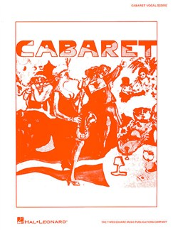 Cabaret (Vocal Score) Books | Piano, Vocal & Guitar