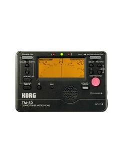 Korg TM-50 Tuner & Metronome (Black)  |