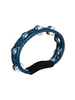 Meinl: Tambourine Aluminum Jingles Hand held version - Blue Instruments | Percussion