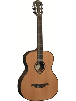 LAG: Tramontane TN300A - Auditorium Nylon String Acoustic Guitar Instruments | Classical Guitar