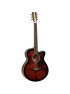 Tanglewood: Nashville V Electro-Acoustic Guitar With Case (Antique Violin Gloss) Instruments | Electro-Acoustic Guitar
