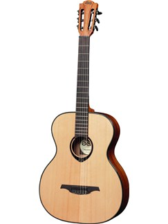 LAG: Tramontane TNL66A - Left-Handed Auditorium Nylon String Guitar Instruments | Left-Handed Guitar, Classical Guitar