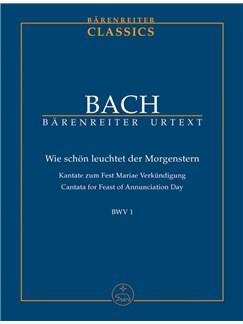 J. S.Bach: Cantata No. 1 - BWV 1 (Study Score) Books   Choral, Orchestra