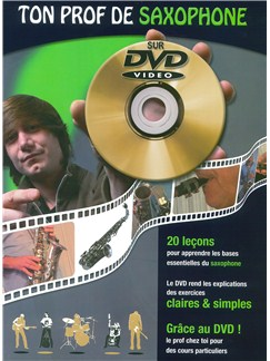 Jean-Claude Doletina: Ton Prof De Saxophone Books and DVDs / Videos |