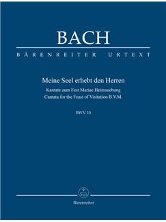 J.S. Bach: Cantata No. 10: Meine Seel Erhebt Den Herren - BWV 10 (Study Score) Books | Choral, Orchestra