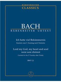 J.S. Bach: Cantata No. 21 - BWV 21 (Study Score) Books | Choral, Orchestra