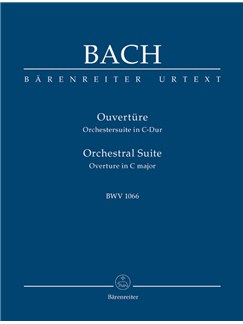 J.S. Bach: Orchestral Suite - Overture No.1 In C BWV 1066 (Study Score) Books | Orchestra