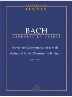 J.S. Bach: Orchestral Suite - Overture No.2 In B Minor BWV 1067 (Study Score) Books | Orchestra