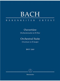 J.S. Bach: Orchestral Suite - Overture No.4 In D BWV 1069 (Study Score) Books | Orchestra