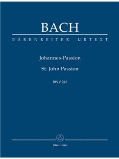J.S. Bach: St John Passion BWV 245 (Study Score) Books | SATB