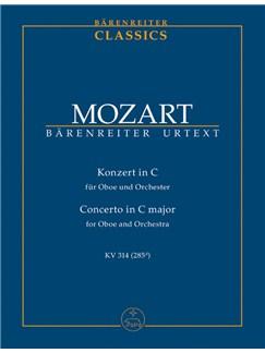 W.A. Mozart: Oboe Concerto In C K.314 (Study Score) Books | Oboe, Piano Accompaniment