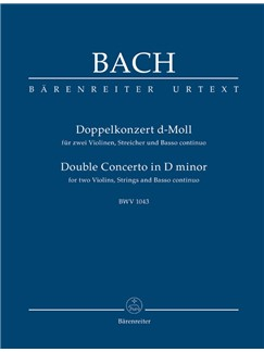 J.S. Bach: Double Concerto For Two Violins In D Minor (BWV 1043) (Study Score) Books | Orchestra, Violin