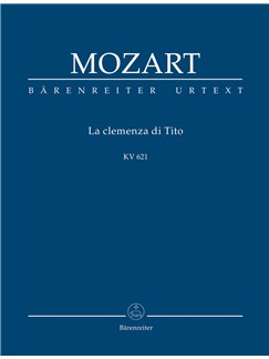W.A. Mozart: La Clemenza di Tito K.621 Books | Orchestra