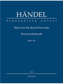 G. F. Handel: Music For The Royal Fireworks HWV 351 (Study Score) Books | Orchestra