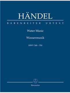 G. F. Handel: Water Music HWV 348-350 (Study Score) Books | Orchestra