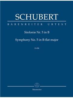 F. Schubert: Symphony No.5 In B-Flat D 485 (Study Score) Libro | Orquesta