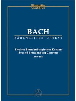J.S. Bach: Brandenburg Concerto No.2 In F, BWV 1047 (Study Score) Books | Orchestra