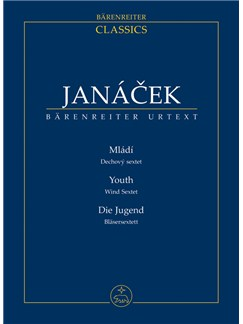 Leos Janacek: Youth Wind Sextet - Miniature Score Books | Wind Ensemble