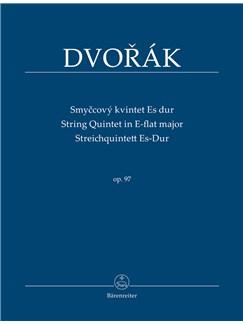 Antonin Dvorak: String Quintet In E-Flat, Op.97 (Study Score) Books | String Quartet